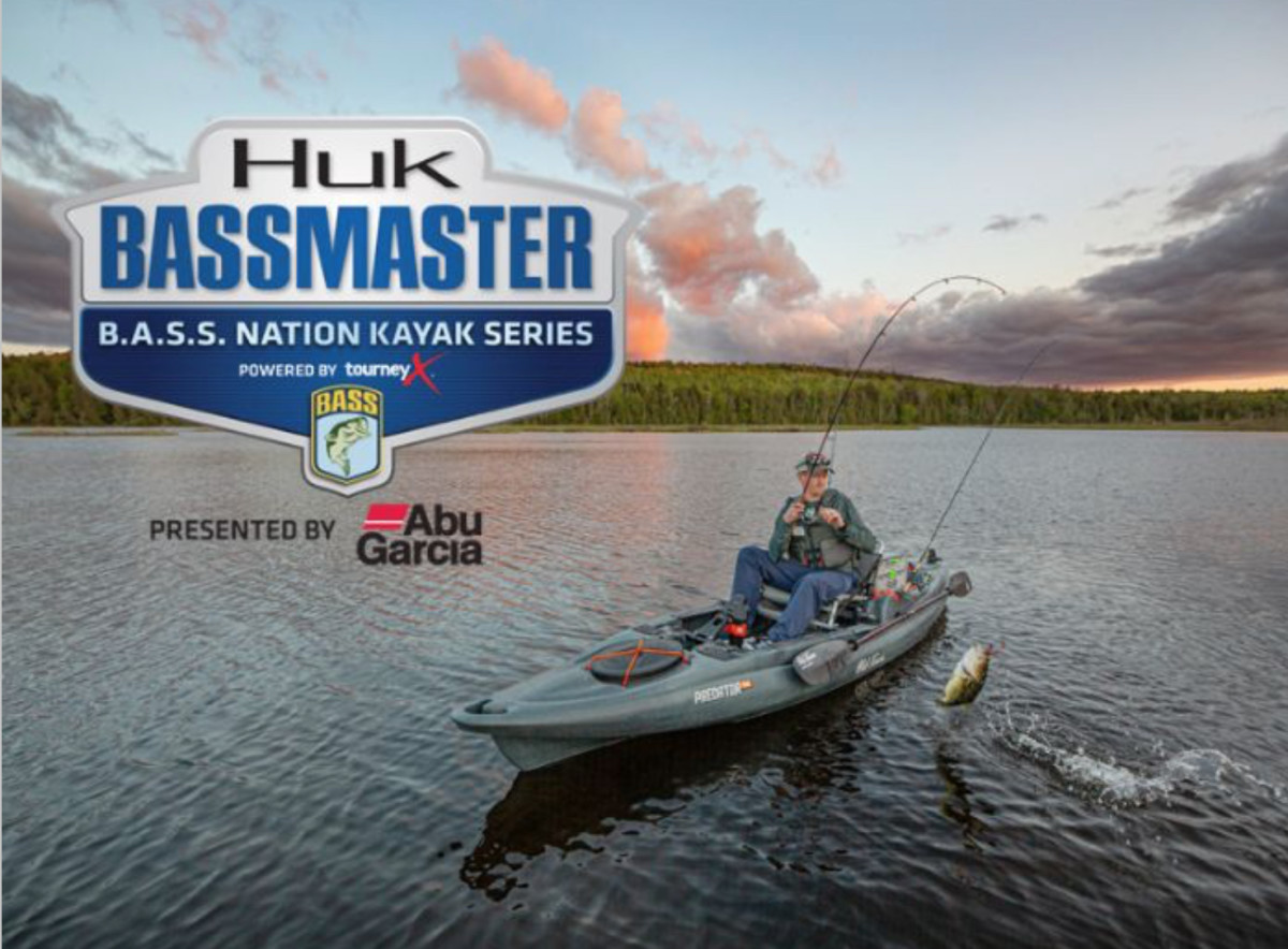 In addition to title sponsor Huk and presenting sponsor Abu Garcia, the kayak series is partnering with Old Town for the inaugural season.