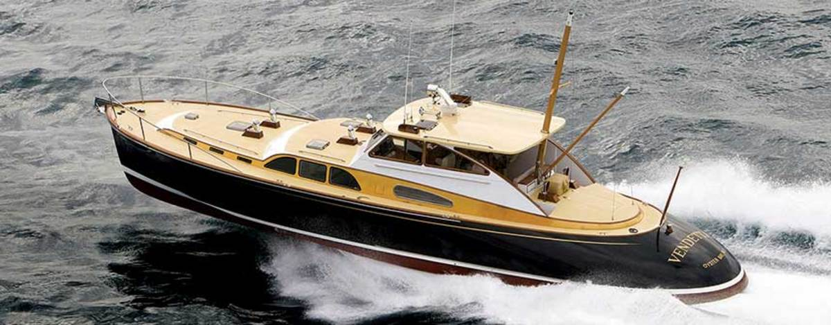 Singer-songwriter Billy Joel  tapped Zurn for the design of  Vendetta, a 56-foot commuter that recalls the golden age of yachting.