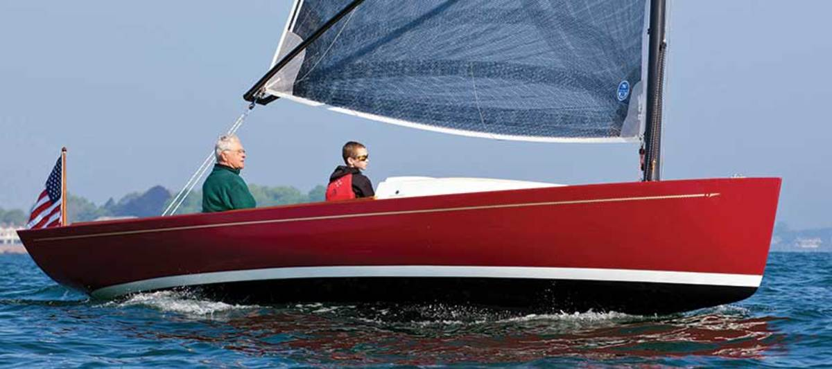 Zurn's sailboat designs include the epoxy-built Marblehead 22.