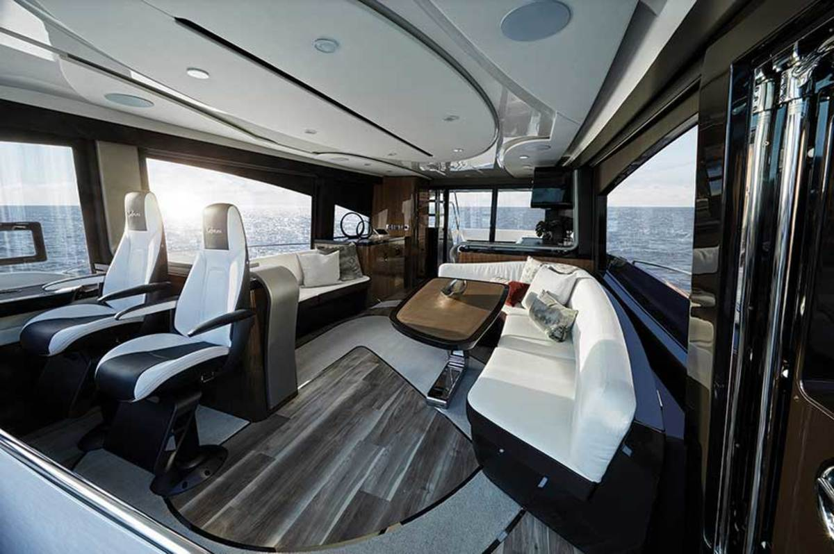 """""""A boat is a real-estate machine. Every angle is important,""""  says Dan Lenard, who designed the Lexus LY 650 interior."""