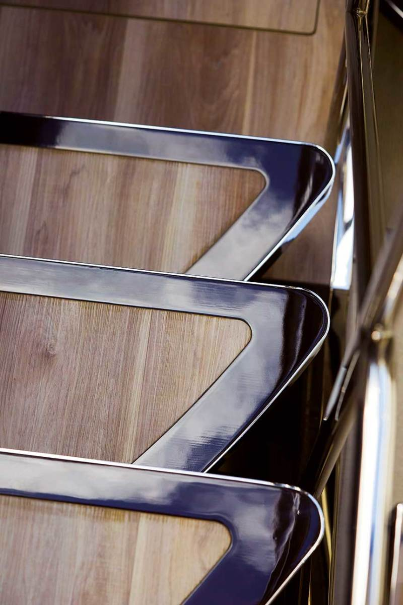 Yacht interior designers draw inspiration from a range of sources, including many outside the  marine industry.