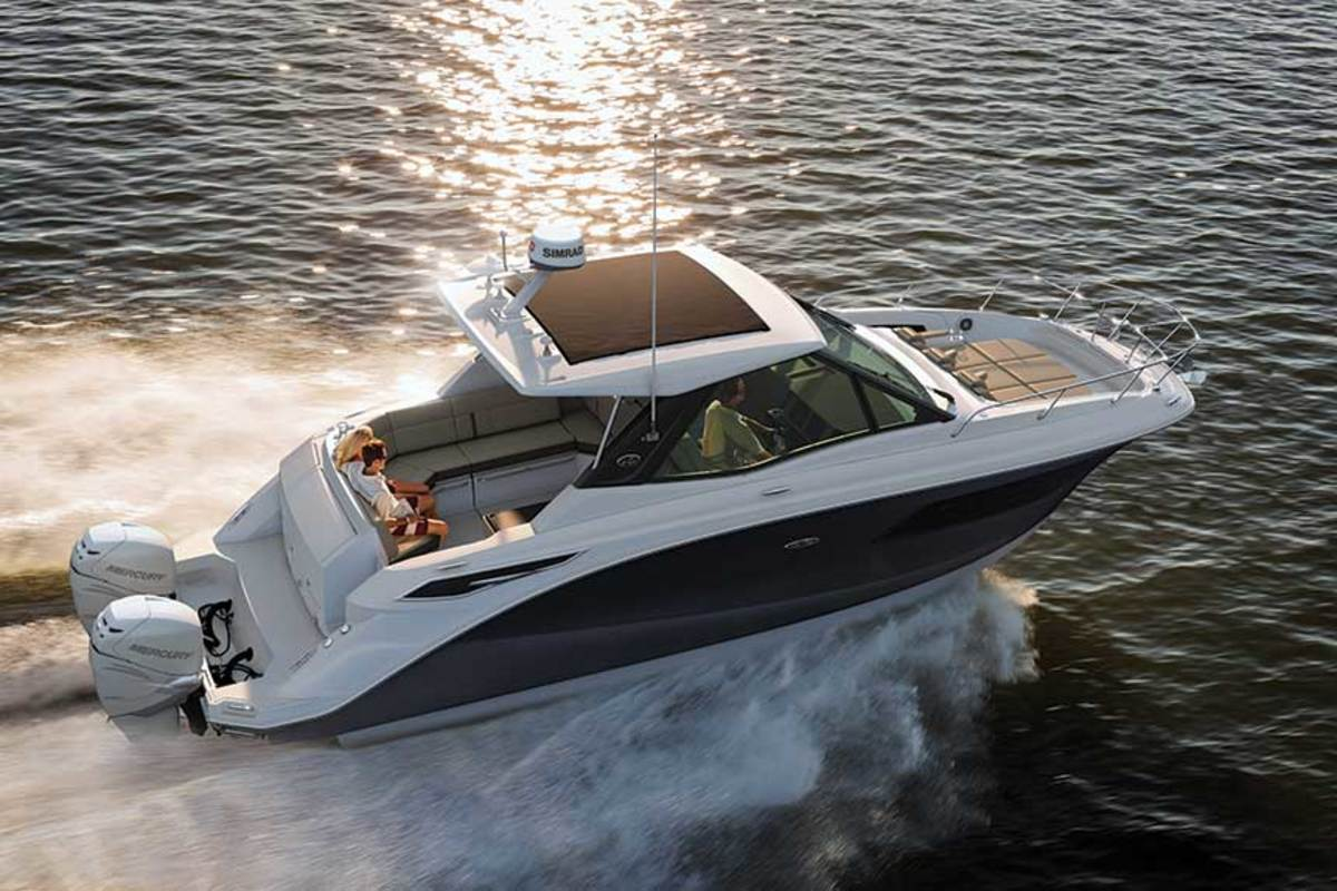 Sea Ray is bringing the interior concept topside, where people spend most of their time on board.