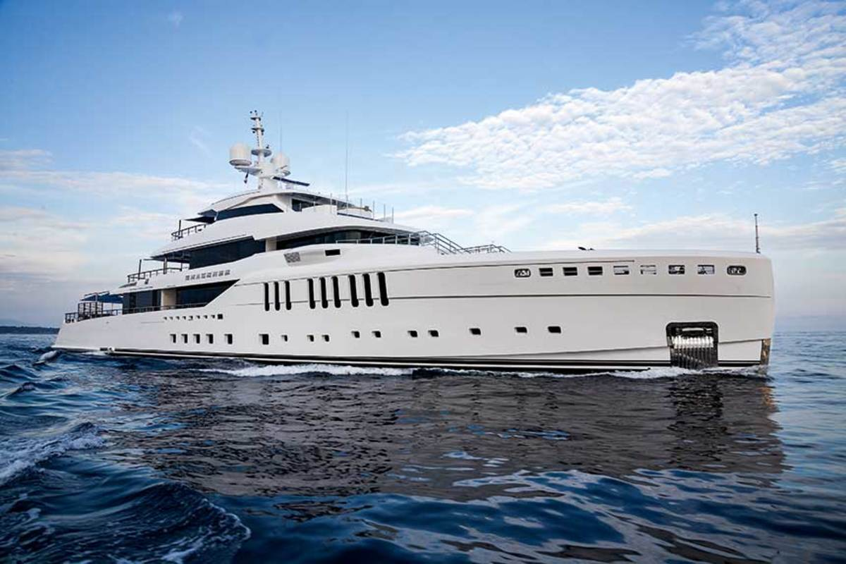 Rover's projects include the 220-foot Benetti SeaSense.