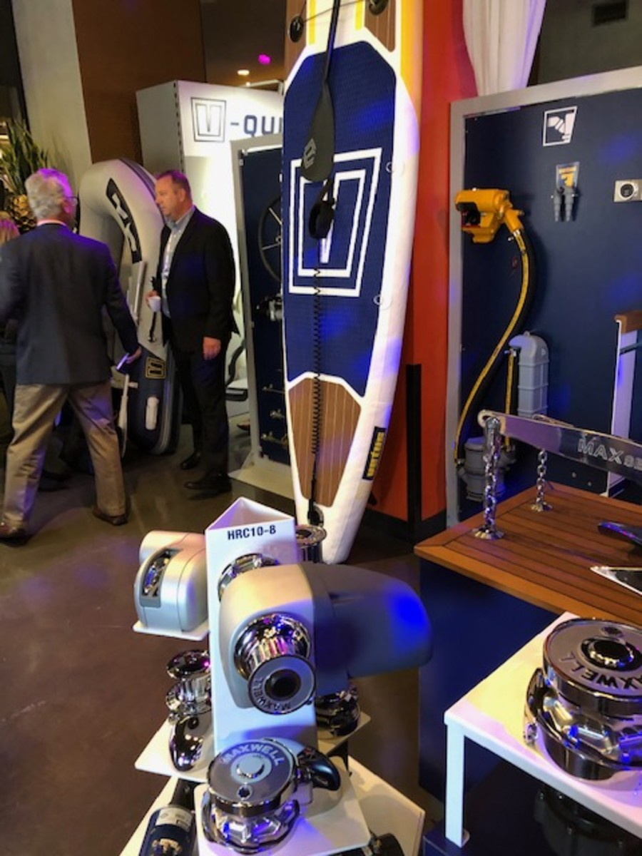 Vetus still maintained a strong presence at the RAI convention center with its exhibit.