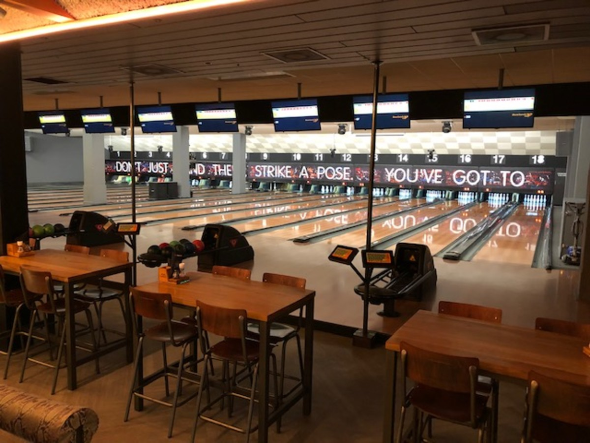 The lanes provide an escape from the stress of the show.