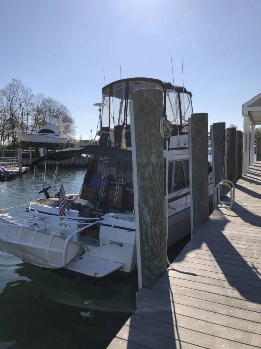 Michael Bye was reportedly aboard the H.M.S Me II, a 35-foot recreational boat, when he was reported missing. PETTY OFFICER 1ST CLASS STEPHEN LEHMANN, U.S. COAST GUARD DISTRICT 5