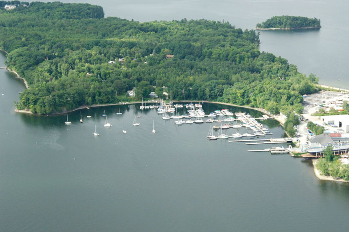 Shelburne Shipyard has been operating on Lake Champlain since the late 18 century.