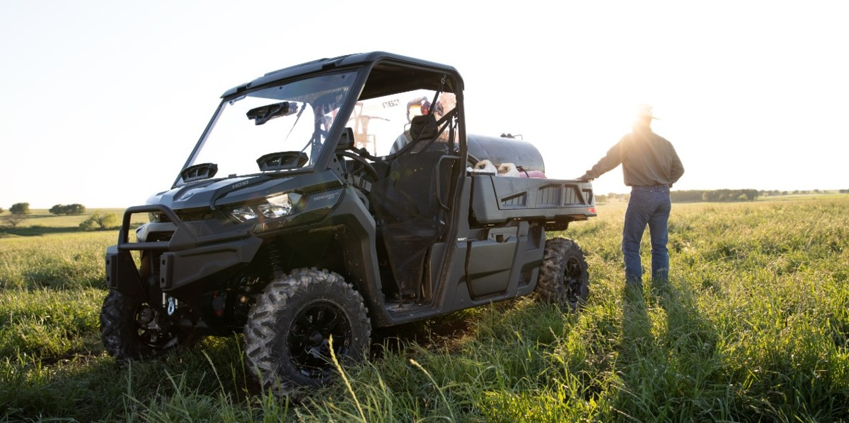 Last September, BRP introduced the Can-Am Defender PRO HD10 as one of multiple new products.