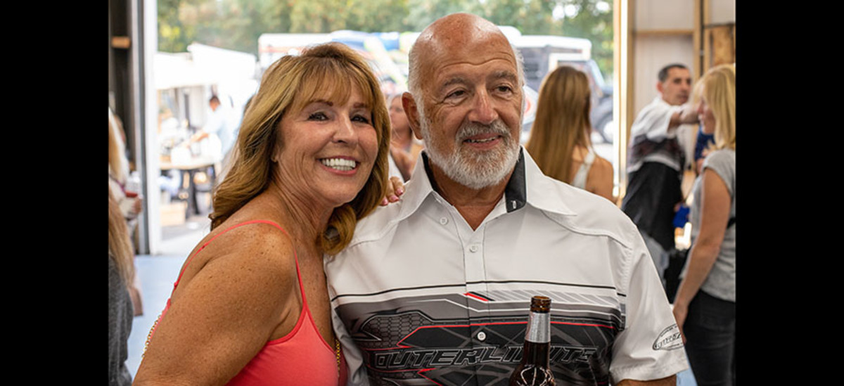 Paul Fiore and his wife Diane. Photo courtesy Halsey Fulton