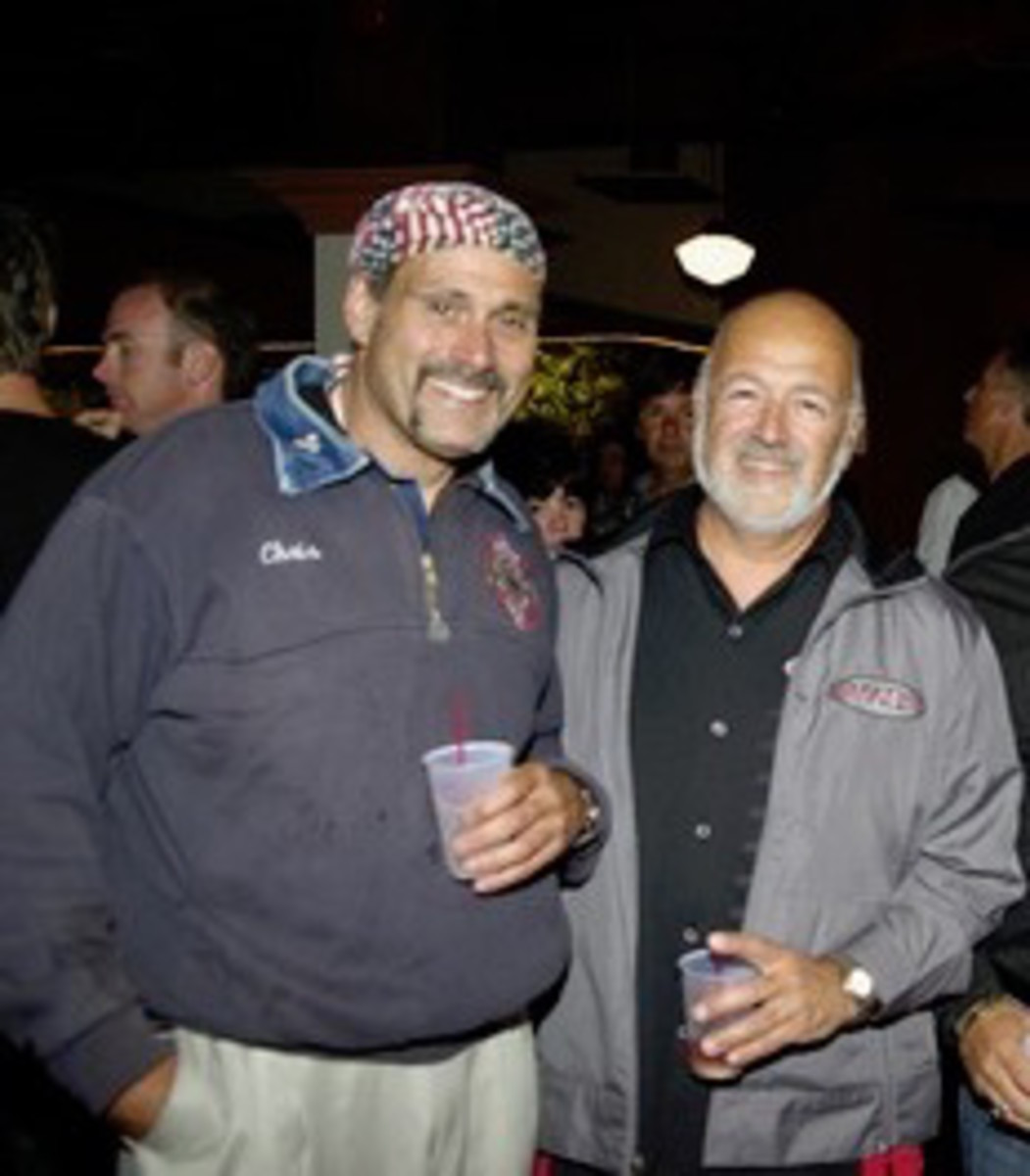 Chris Cestaro (L) and Paul Fiore.