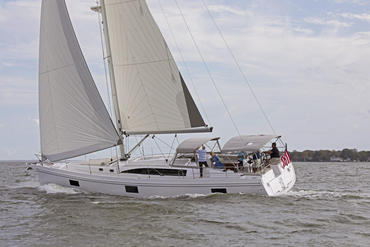 The Catalina 545 was the winner of the Best Systems category. Courtesy of Catalina/Billy Black