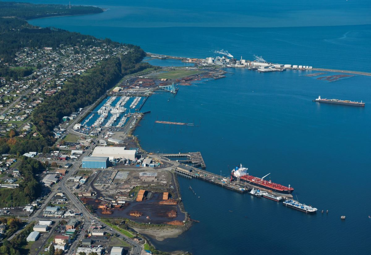 John Wayne Marina is currently operated by the Port of Port Angeles.