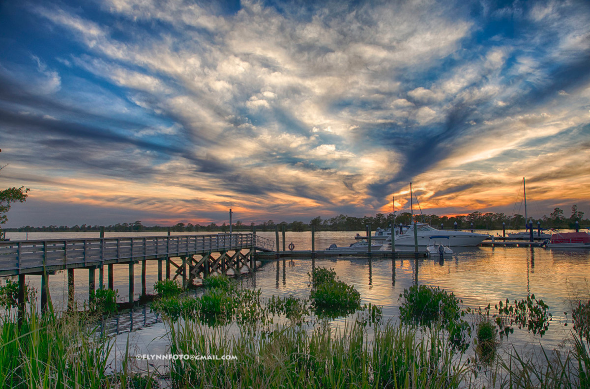 Heritage Plantation Marina in Pawleys Island, S.C., was among the choices.