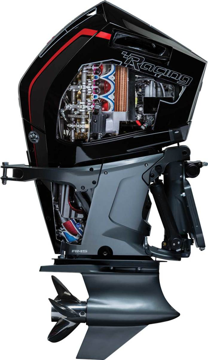 Growing demand for high-horsepower outboards will keep production lines busy for engine manufacturers.