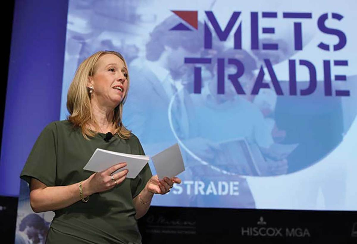 Maritime director Irene Dros says Metstrade's 5 percent gain in attendance shows its expanding global reach.