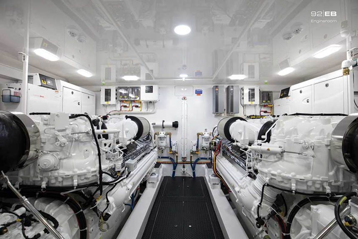 Engines in yachts in the size ranges that would be impacted already take up significant space, so there are concerns about adding more equipment.