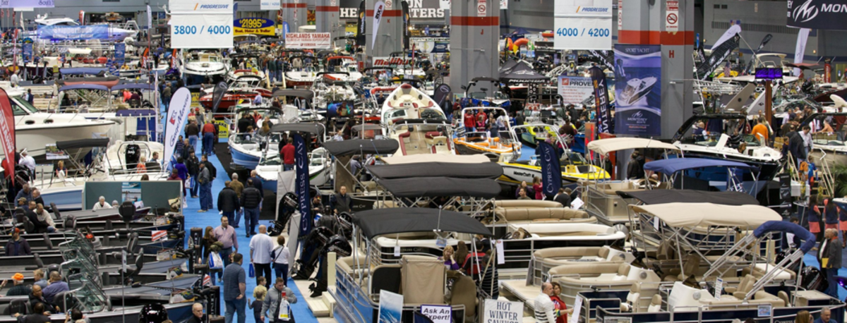 The 2019 show drew solid crowds.