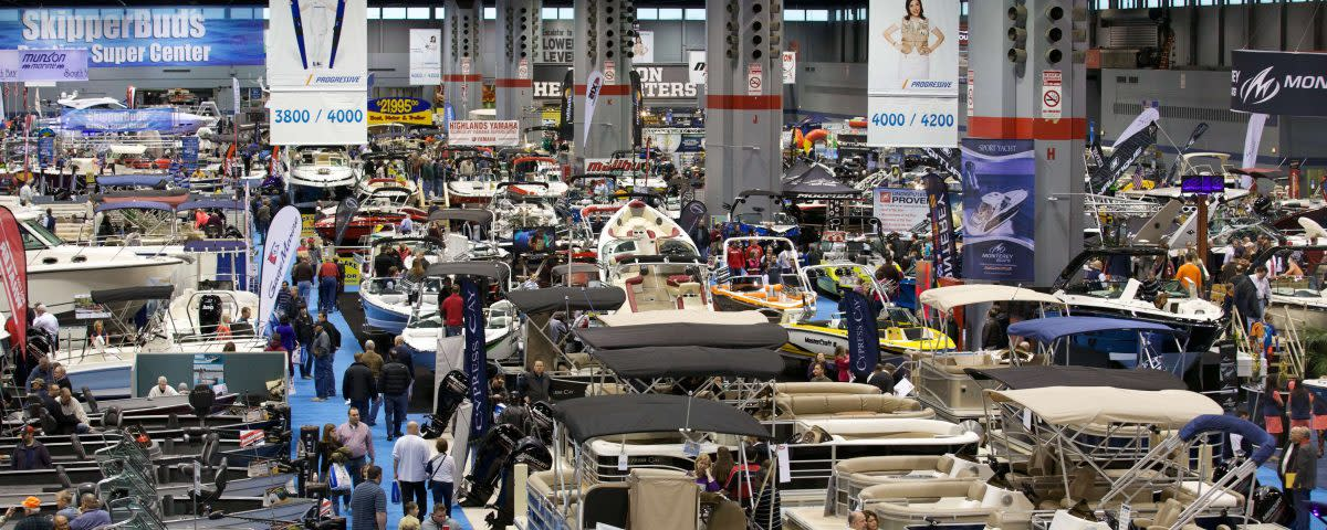 The show draws large crowds because of its broad range of displays.