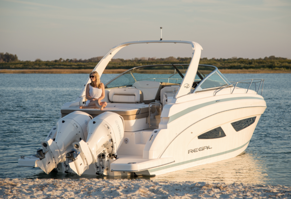Sales of outboard-powered cruisers outpaced all other segments.