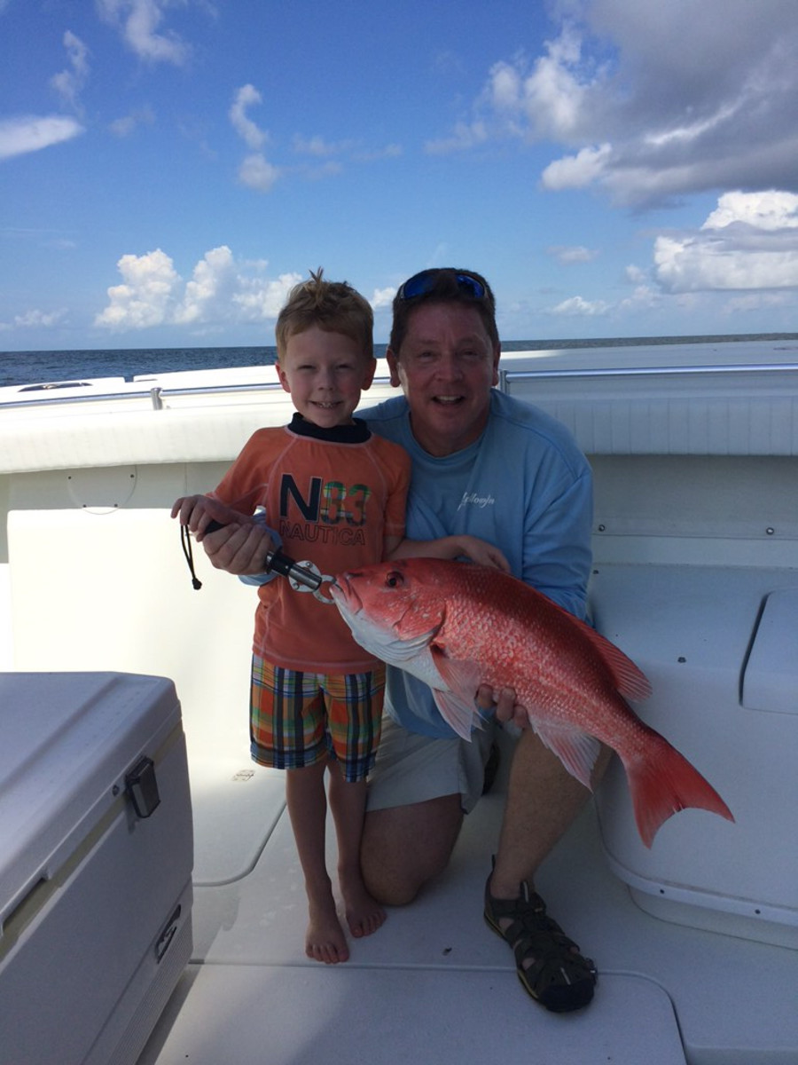 State data collection in the Gulf of Mexico resulted in longer recreational fishing seasons for red snapper. Photo by Jeff Angers