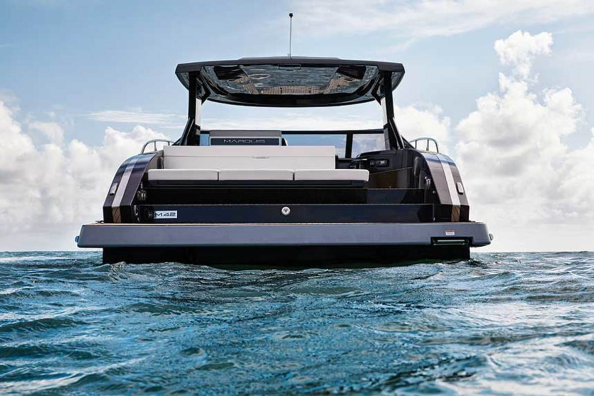 Marquis Yachts says its exports have dropped from about 30 percent of its business to less than 10 percent because of tariff pressures.