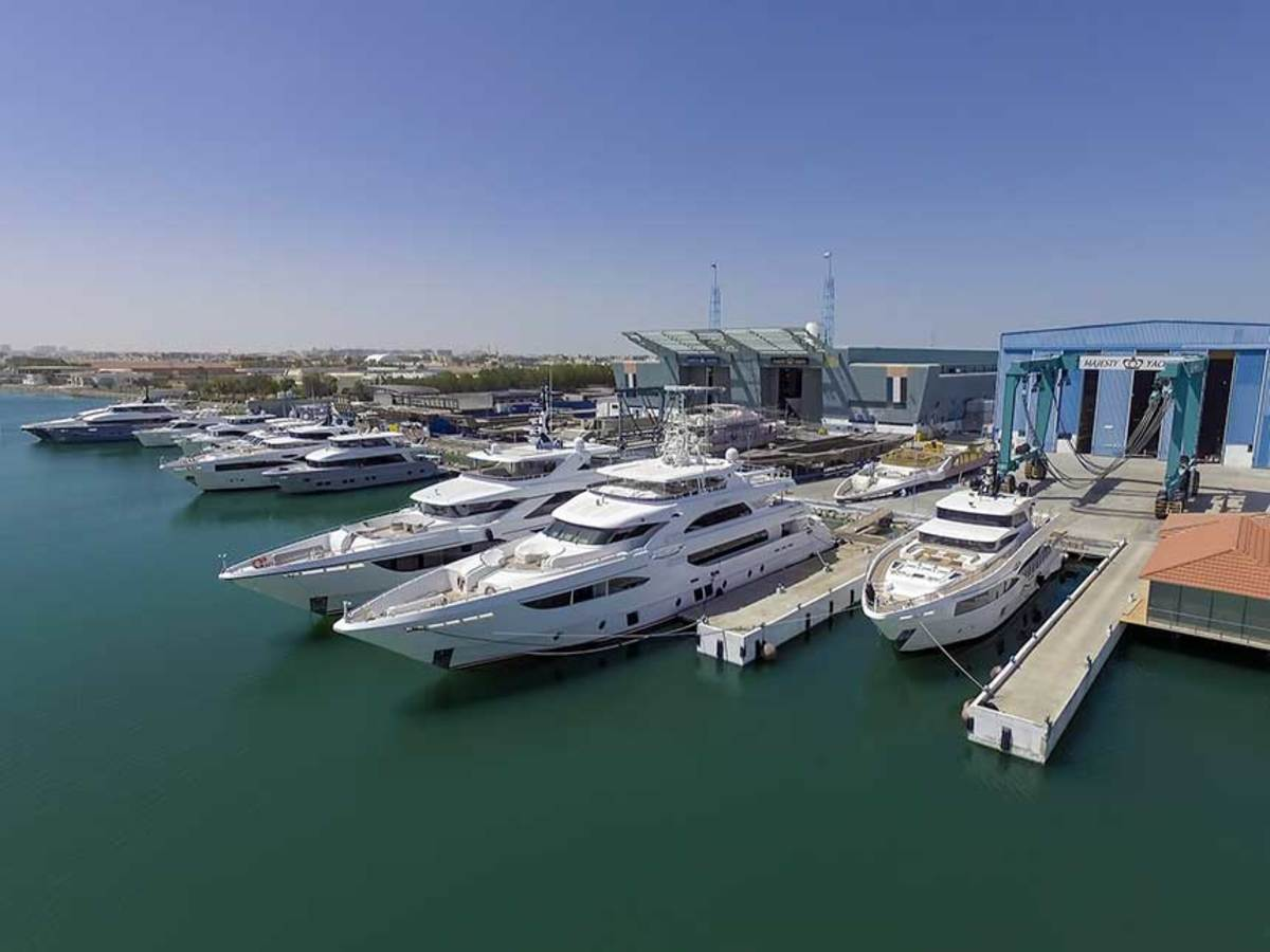 Gulf Craft, which builds multiple boat styles and brands, has facilities in the United Arab Emirates and Maldives, with about 1,500 employees.