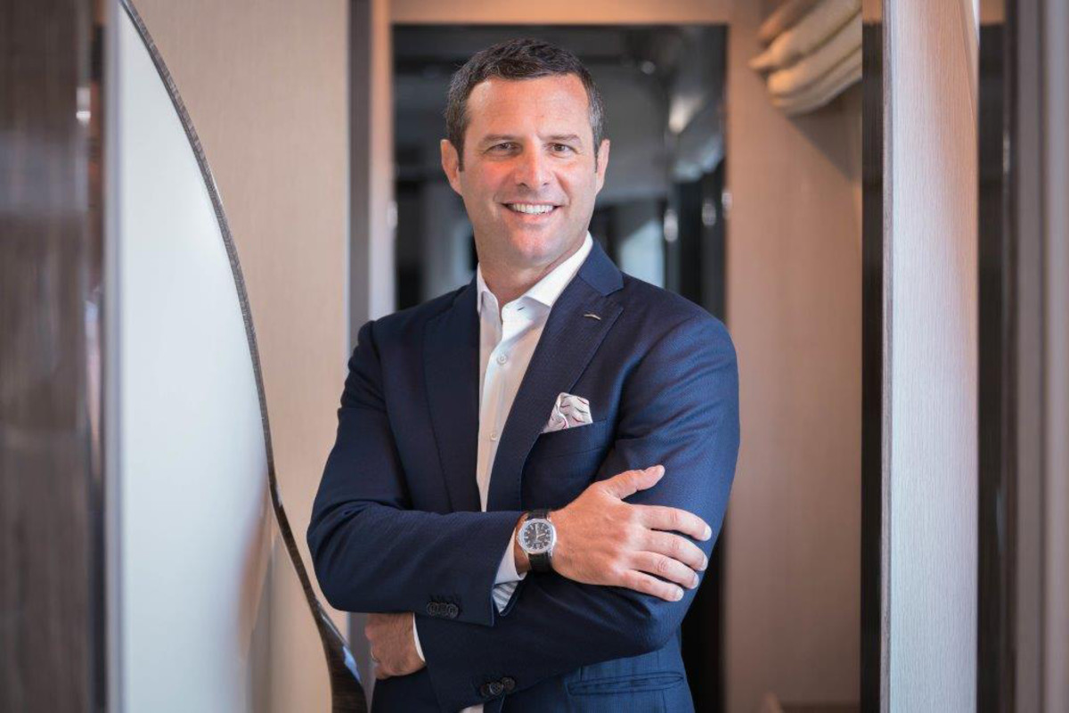 Federico Ferrante, president of Azimut/Benetti U.S.A., is pushing his brand to the top slot.