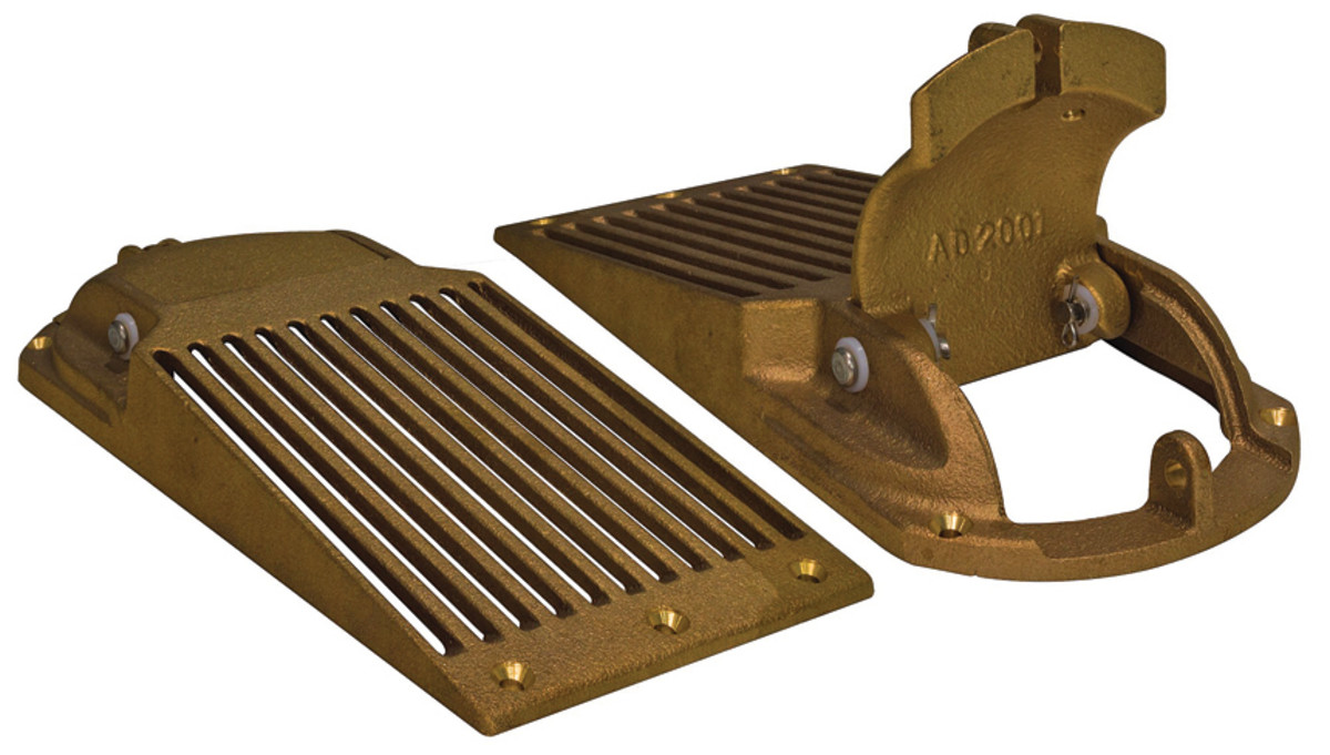 ASC Series strainers have a patented door for removing debris.