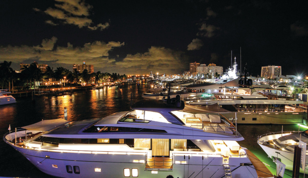 Midnight at the Oasis: FLIBS could set another record for sales of imported yachts.