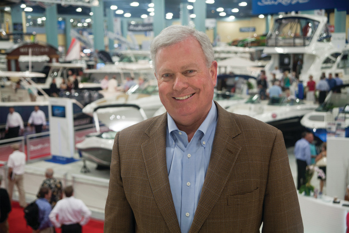 The uniter: Thom Dammrich will be most remembered for bringing the industry together so it could pursue initiatives such as Grow Boating and Dealer Certification.