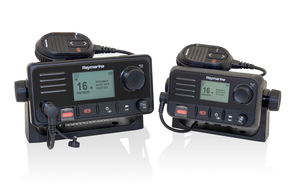 The Ray53 and Ray63 are multifunction VHF radios with AIS and Class D Digital Selective Calling.