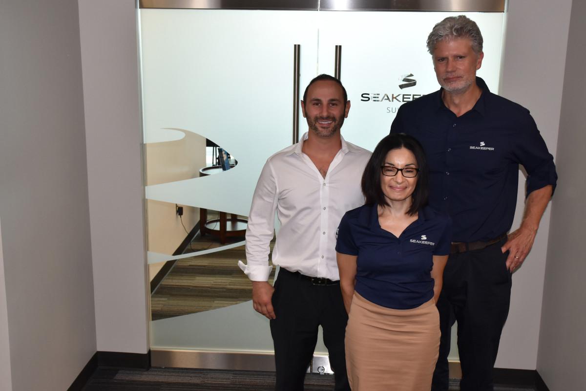 Seakeeper-Andrew Semprevivo, Rebecca Smitha, Bob Moser