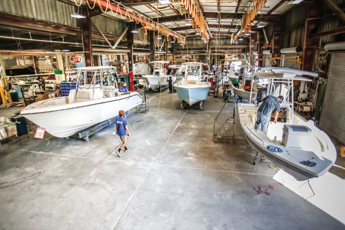 """Inshore seems to be softer than offshore, but both are growing."" — Scott Deal,  president, Maverick Boat Co."