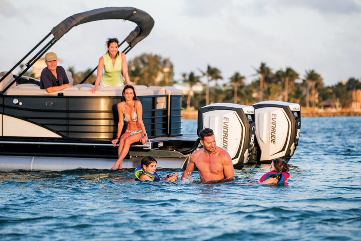 Acquisitions have paired diversified publicly traded companies with strong boat brands, like BRP and Manitou.