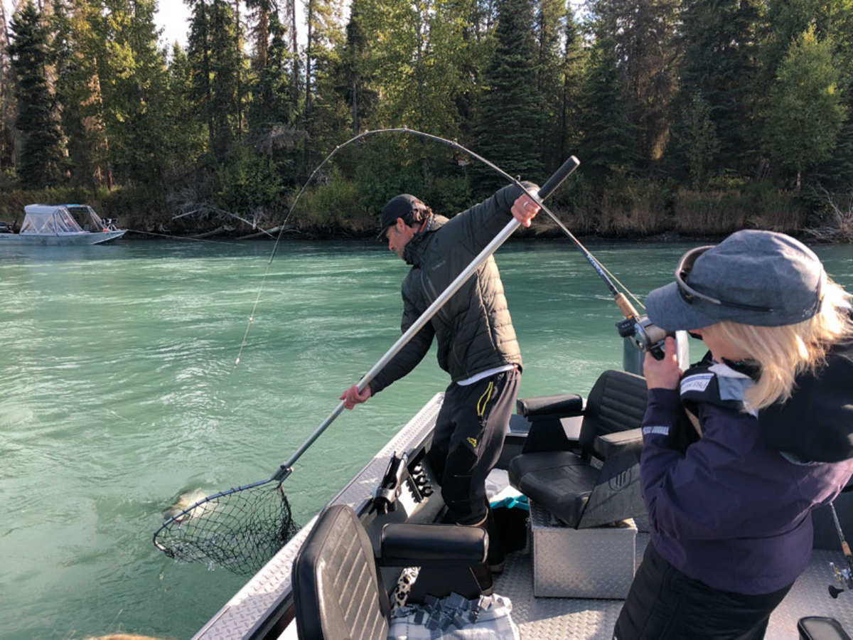 Women accounted for 45 percent of new participants in fishing last year, according to the Recreational Boating and Fishing Foundation.