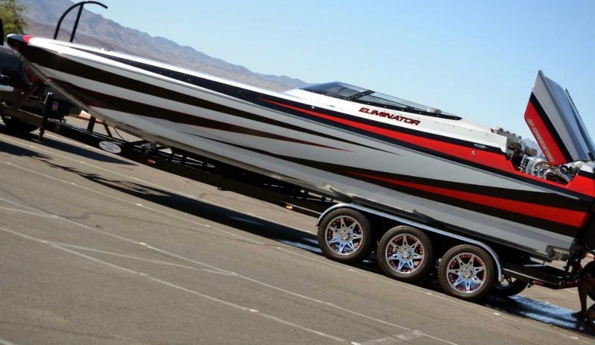 Eliminator is known for its high-performance catamarans like this 27 Speedster