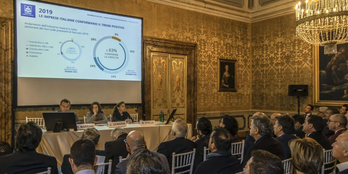 Ucina General Assembly in Rome