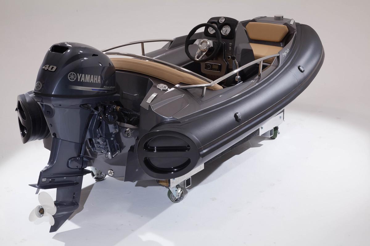 Argos Nautic makes RIB tenders from 10 feet to 13 feet, 6 inches.