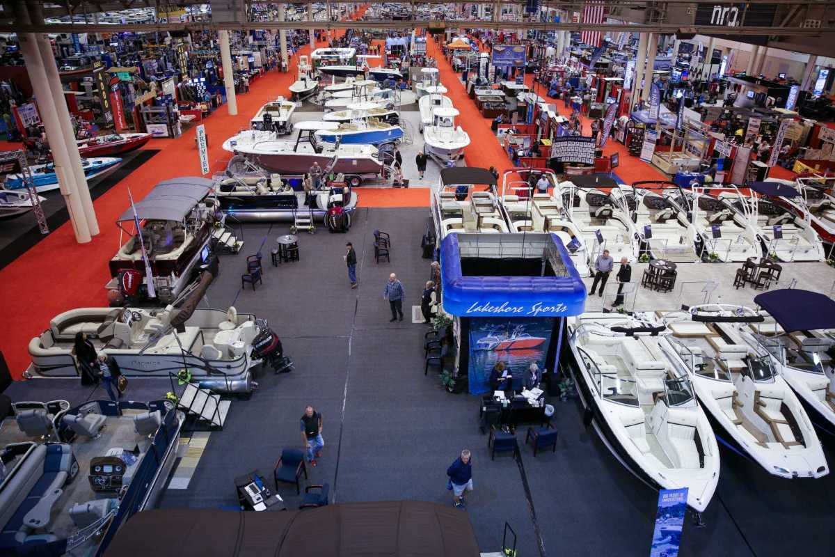 Last year's Houston Boat Show had more than 1,000 boats on display.