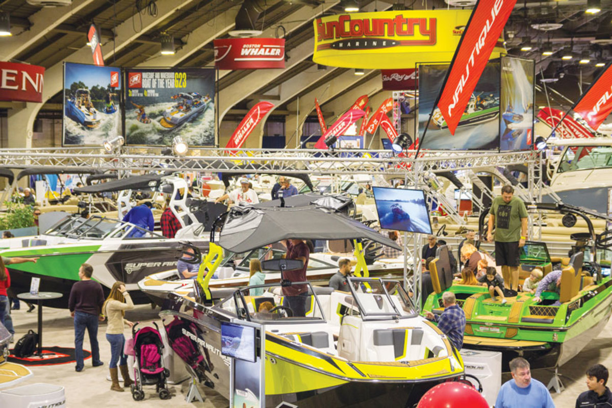 The Los Angeles Boat Show has enjoyed a resurgence the past two years.