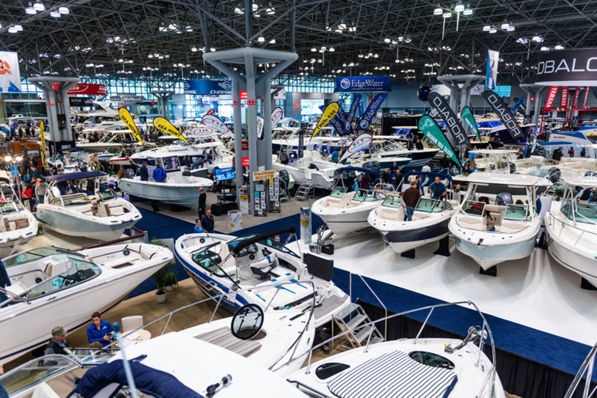 With boat show season kicking off, the marine industry is on a positive trajectory. Photo courtesy of Business Wire.