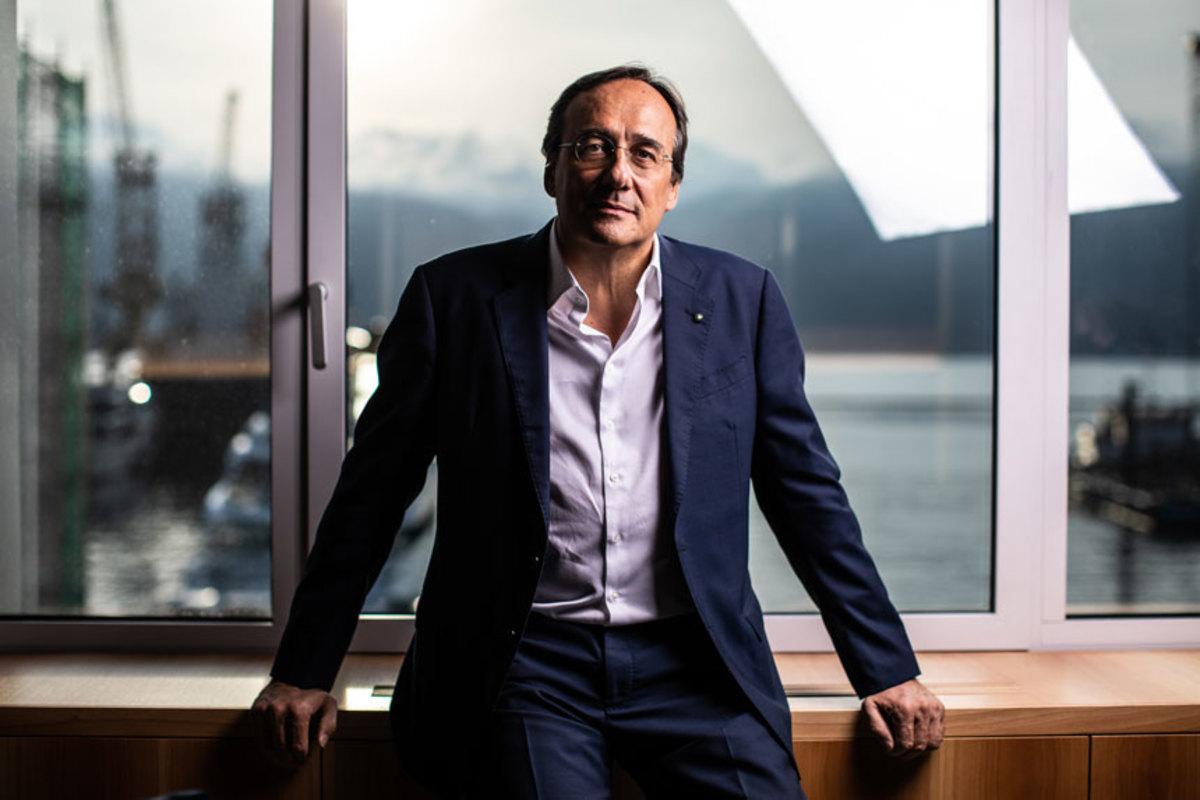 Sanlorenzo chairman/CEO Massimo Perotti