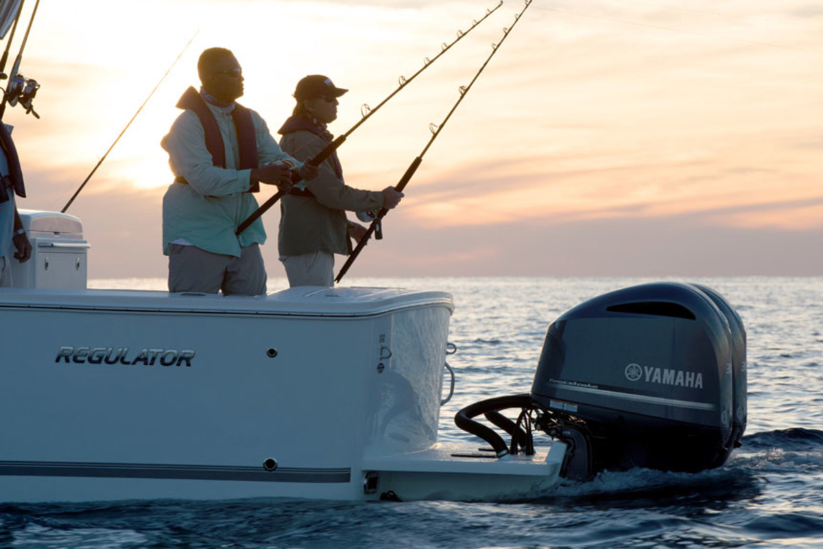 Photo courtesy of Yamaha Outboards