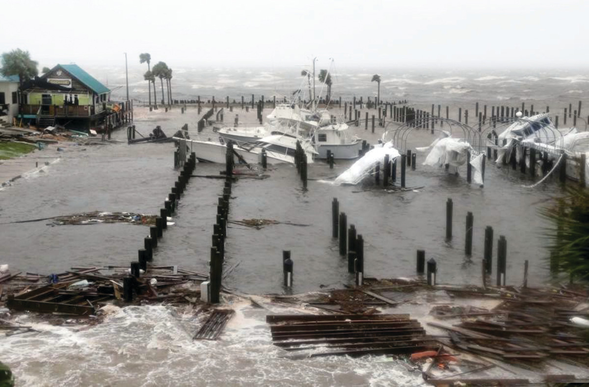 Hurricane Michael destroyed parts of the Florida panhandle. Credit: BoatUS