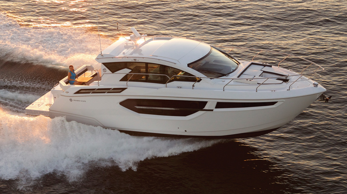 The 42 Cantius is the first model Erwin received from Cruisers.