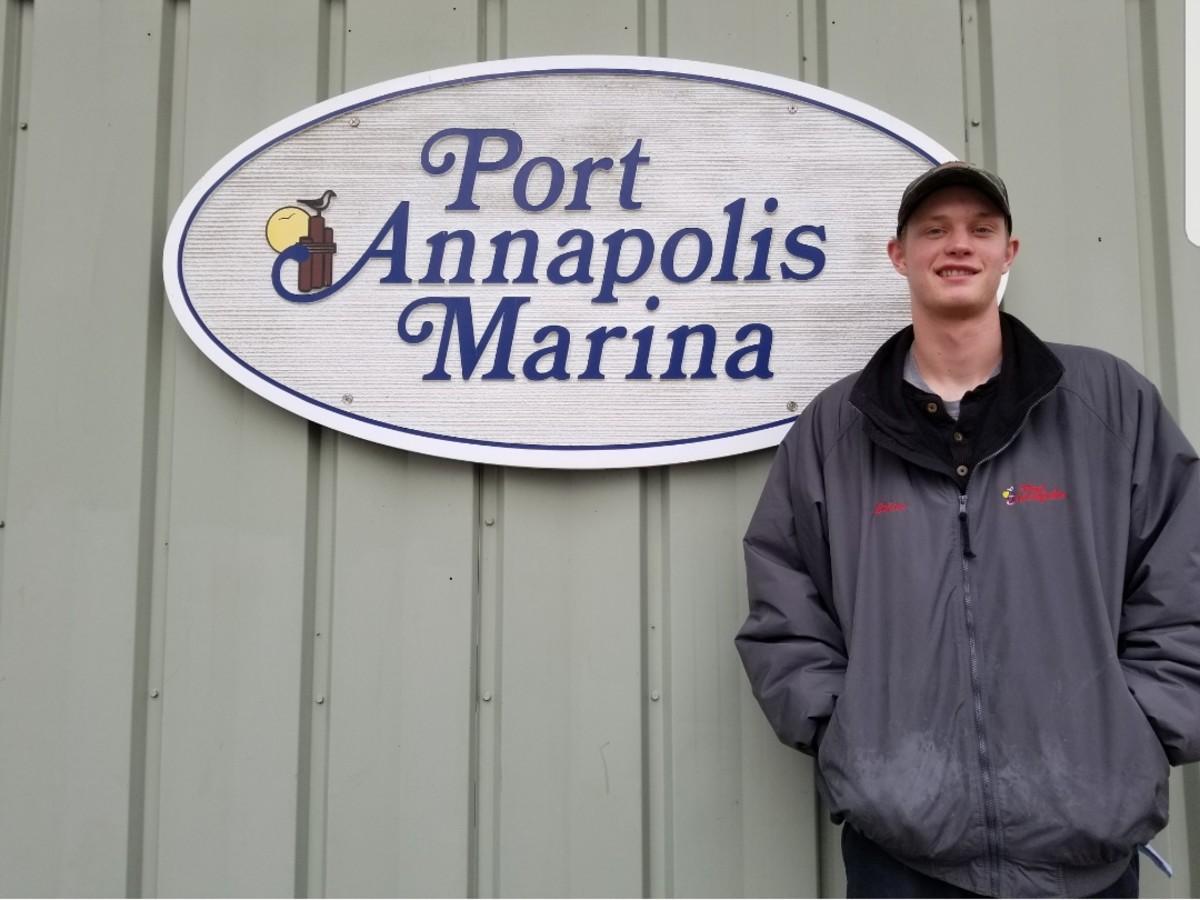 Ethan Walz began his marine industry career in 2015.