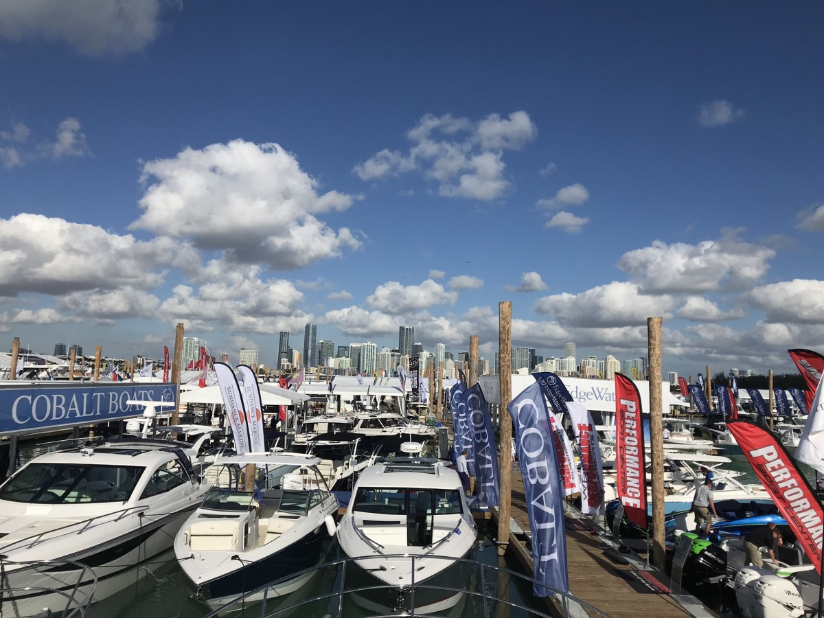The boating industry contributed $170.3 billion to the U.S. economy last year.