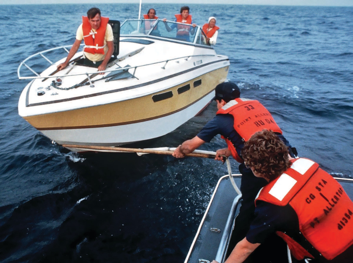 Coast Guard personnel have continued to work without pay during the government shutdown.