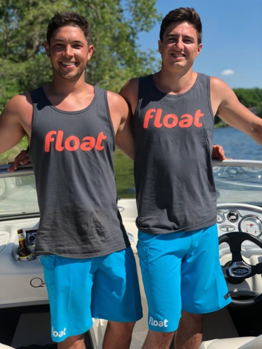 Jake McHenry (left) and Ross Larson, co-founders of Float. Courtesy Float