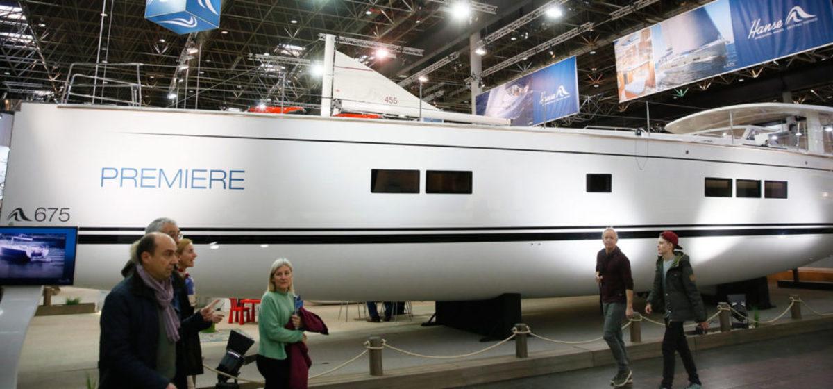 DUSSELDORF Yachtpremieren-auf-der-boot